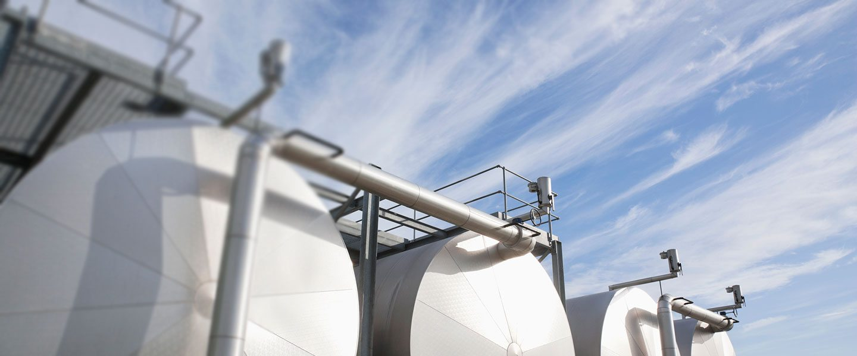 gassmåling tank